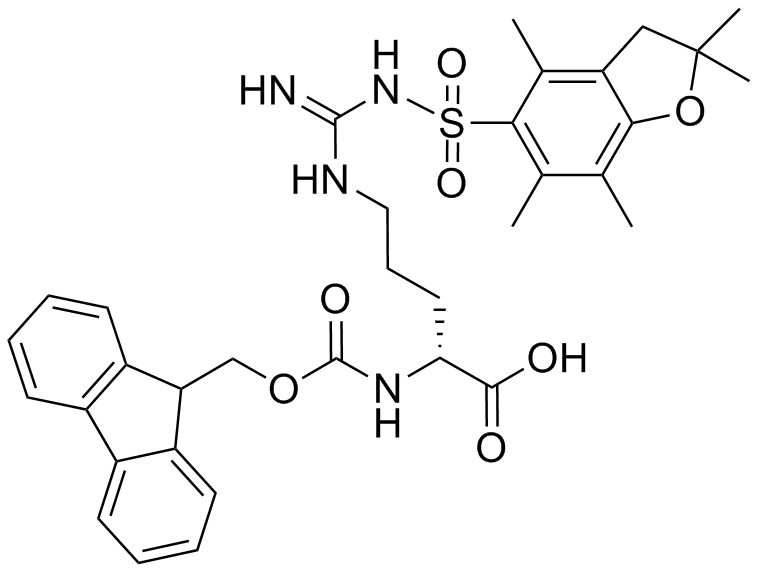 Fmoc-D-Arg(Pbf)-OH