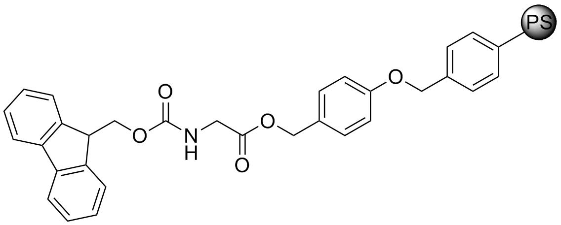 Fmoc-Gly-Wang resin