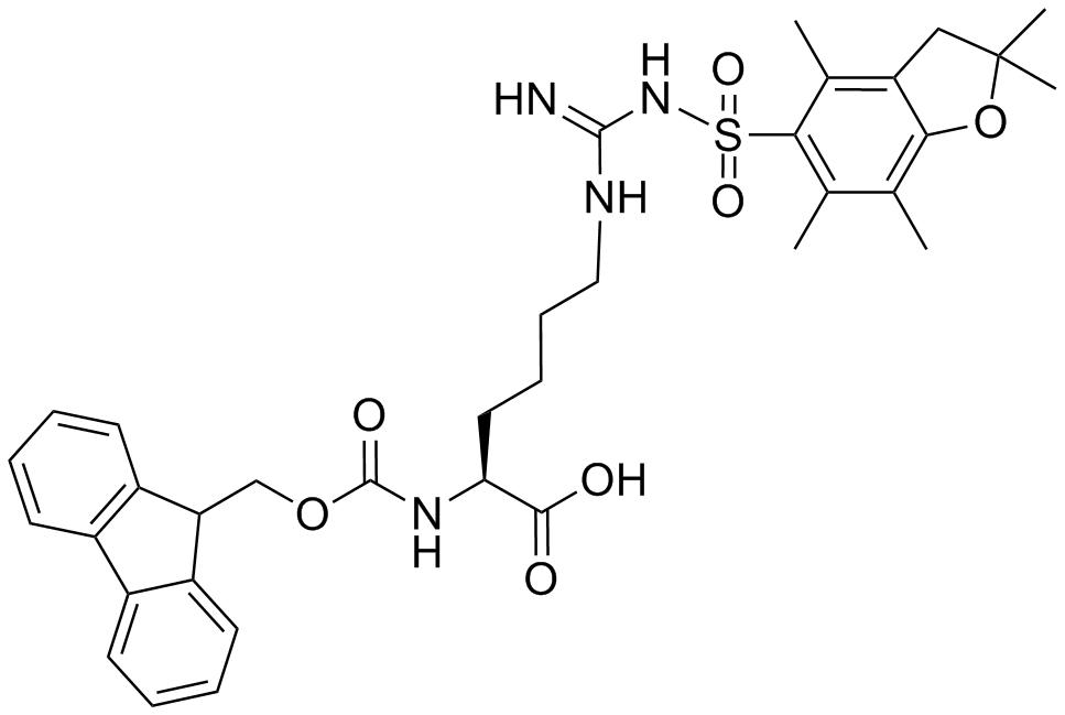 Fmoc-L-HomoArg(Pbf)-OH