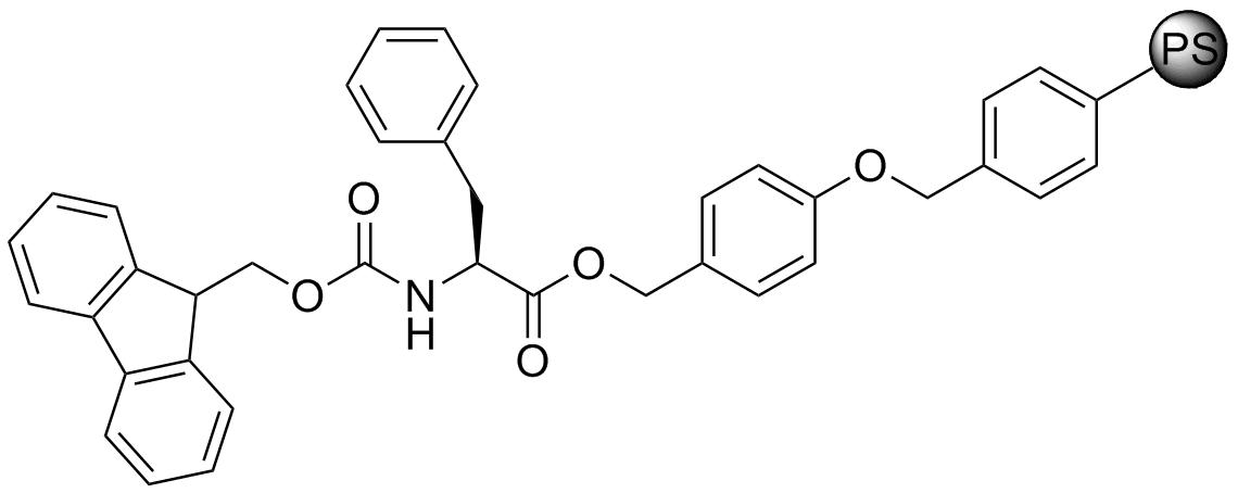 Fmoc-L-Phe-Wang resin