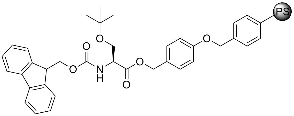 Fmoc-L-Ser(tBu)-Wang resin