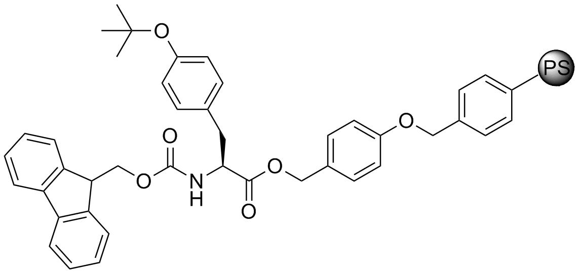 Fmoc-L-Tyr(tBu)-Wang resin