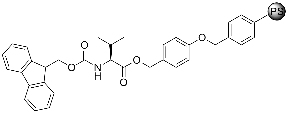 Fmoc-L-Val-Wang resin