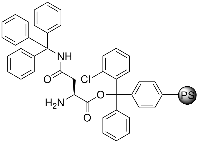 H-L-Asn(Trt)-2-Cl-Trityl resin