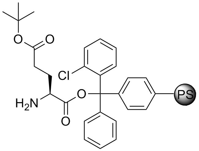 H-L-Glu(OtBu)-2-Cl-Trityl resin