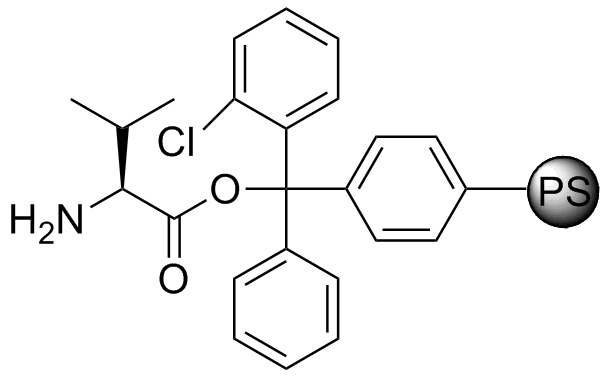H-L-Val-2-Cl-Trityl resin