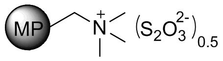 MP-Thiosulfate resin
