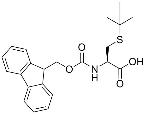Fmoc-L-Cys(tBu)-OH