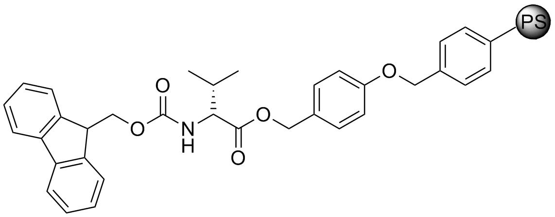 Fmoc-D-Val-Wang resin