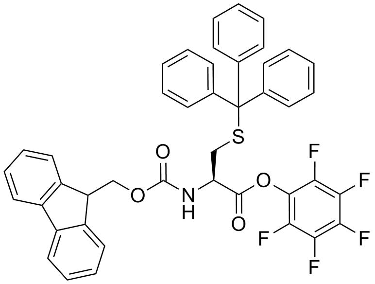 Fmoc-L-Cys(Trt)-OPfp